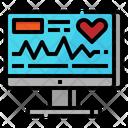Monitor Heart Beat Icon
