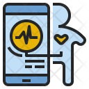 Heart-rate monitoring Icon