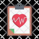 Life Health Chart Icon