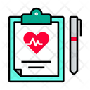 Report Heart Report Health Icon