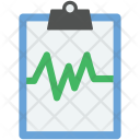 Heart Report Heartbeat Icon