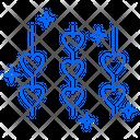 Heart Rope Hearts Icon