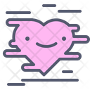 Heart Rush Heart Inloved Icon