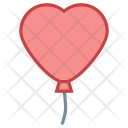 Heart shape balloon Icon