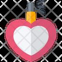 Heart Shape Bottle Icon