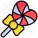 Heart Shape Lollipop Sweet Lollipop Icon