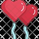 Heart Ballon Holiday Icon