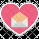 Heart shaped latter Icon