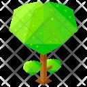 Heart shaped tree Icon