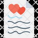 Heart Sheet Icon