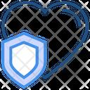Heart Shield Icon