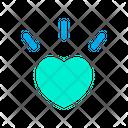 Heart Shining Icon