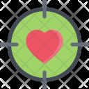 Heart Sight Couple Icon