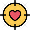 Heart Sight Love Icon