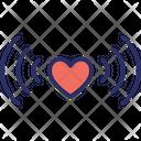 Heart signals Icon