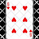 Heart Six Icon