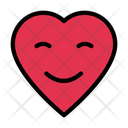 Heart Love Smiley Icon