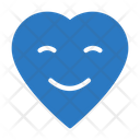 Heart Smiley Icon