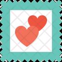 Heart Sticker Icon