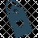 Heart tag Icon