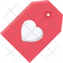 Heart Tag Love Tag Heart Label Icon
