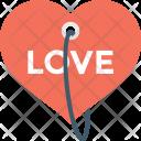 Heart Tag Label Icon