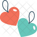 Heart Tags Label Icon