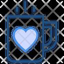 Heart Tea Icon