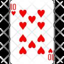 Heart Ten Icon