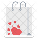 Heart Tote Bag Icon