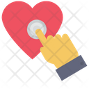 Heart Touch Icon