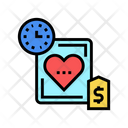 Heart Transplant Price Icon