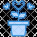 Heart Tree Love Heart Icon
