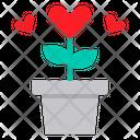 Heart Tree Love Valentine Icon