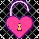 Heart Unlocked Icon