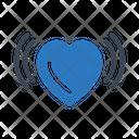 Heart Vibrating Icon