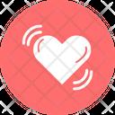 Heart Waves Heart Heart Balloon Icon