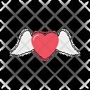 Heart Wing Like Favorite Icon