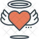 Heart Wings Icon