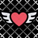 Heart Wings Love Icon