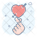 Heart With Arrow Injured Heart Broken Heart Icon