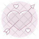 Heart With Arrow Heart With Icon
