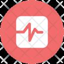 Heartbeat Lifeline Pulsation Icon
