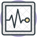 Heartbeat Screen Electrocardiogram Icon