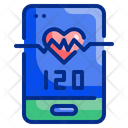 Hr Heart Rate Icon