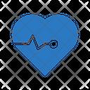 Life Heart Pulses Icon