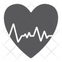 Heartbeat Ecg Cardiology Icon
