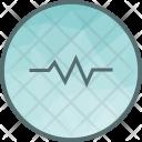 Heartbeat Pulse Heart Icon