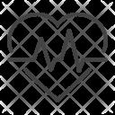 Heartbeat Heart Pulse Icon