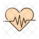 Heartbeat Heart Rate Pulses Icon